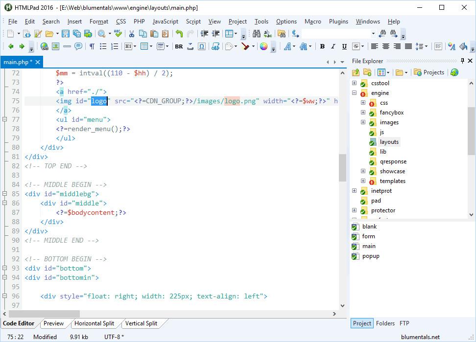 Blumentals HTMLPad Crack