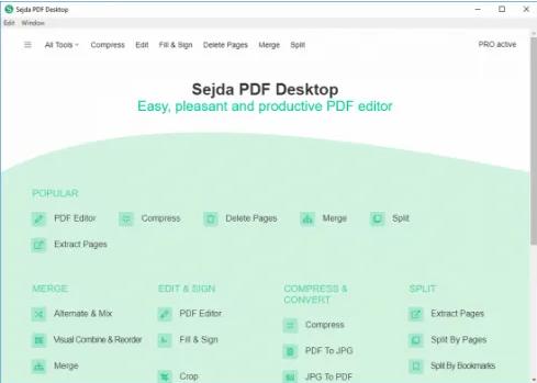 Sejda PDF Desktop Crack