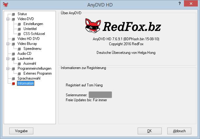 AnyDVD HD Crack