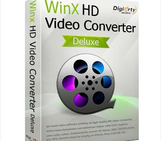 WinX HD Video Converter Deluxe 5.16.4 Full Crack 2021